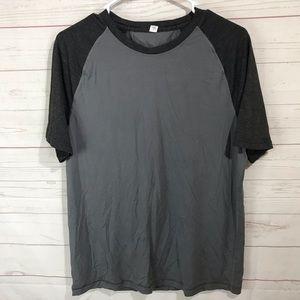 Lululemon short sleeve shirt men's M two tones